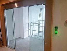 越秀区自动门门禁系统安装案例