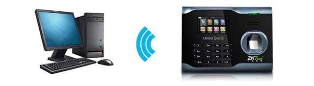 无线连接及导出数据方式