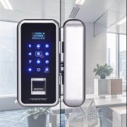 <b>办公室玻璃门智能指纹锁安装</b>