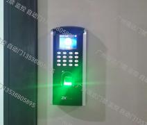 <b>广州白云区新办公室安装指纹门禁考勤一体</b>